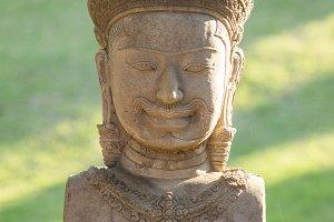 bayon statue stone face