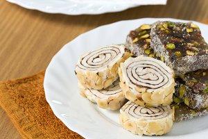 Turkish delight sweet taste