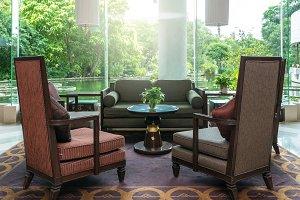 Luxury lobby Interior Hotel
