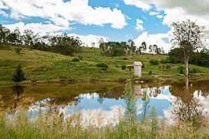 Countryside dam