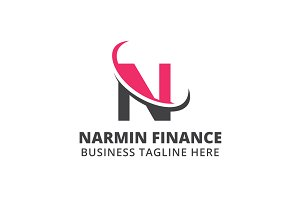Narmin Finance Logo Template