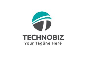 Technobiz Logo Template