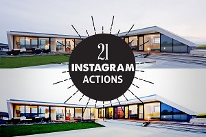 21 Cool Instagram PhotoShop Action
