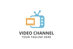 Video Channel Logo Template