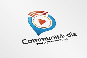 CommuniMedia – Logo Template