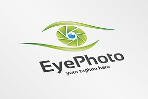 Eye Photo – Logo Template