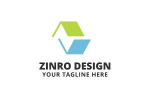 Zinro Design Logo Template