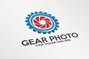 Gear Photo – Logo Template