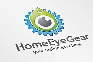 HomeEyeGear – Logo Template