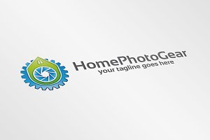 HomePhotoGear – Logo Template