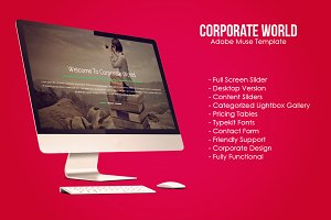 Corporate World Muse Template