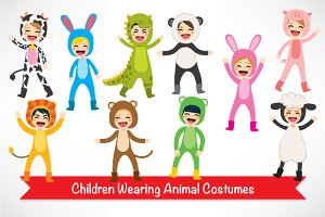 Children Animal Costume Characters