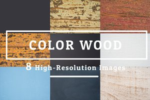 8 COLOR WOOD