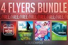 Free Flyer Templates Bundle