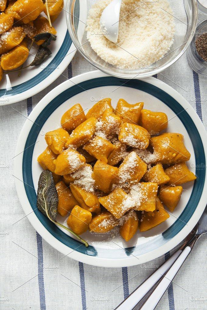 Italian dumplings. squash - Food & Drink