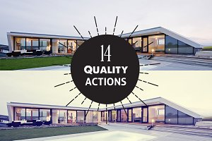 14 Quality PhotoShop Actions