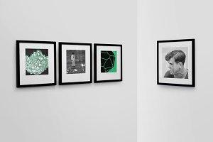 Frame Gallery Mockup - 01