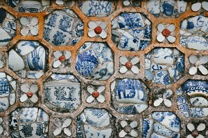 ceramic decorative pattern in hue 1