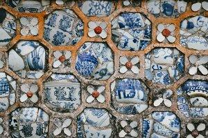 ceramic decorative pattern in hue 1