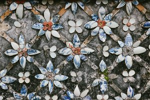 ceramic decorative pattern in hue 2