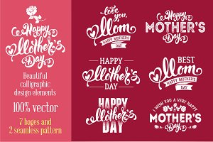Calligraphic Design for Mother's Day