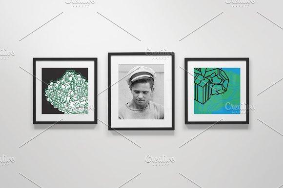 Download Frame Gallery Mockup - 02
