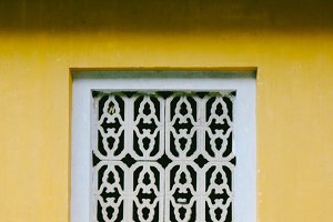 decorative ventilation panel in hue