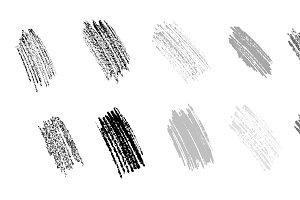 Graphite scrawl set