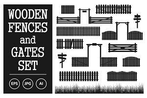 Vector Set of Fences and Gates