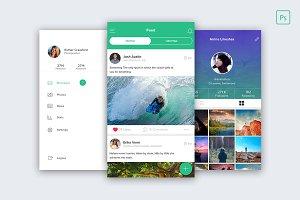Ramro app template iOS