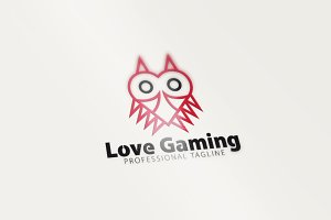 Love Gaming Owl Logo