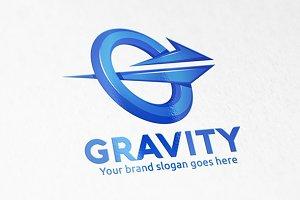 Gravity Letter G Logo