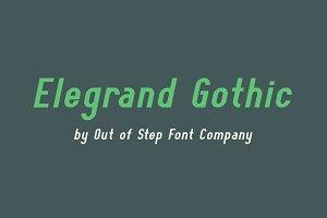 Elegrand Gothic Family