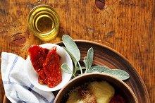 Italian gnocchi with tomato