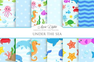 Under the Sea Digital Paper