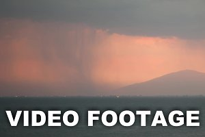 Timelapse of thunderstorm