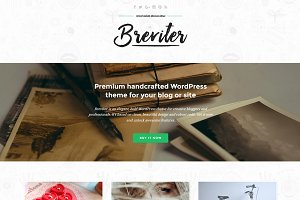 Breviter Pro - handcrafted WP theme