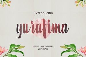 Yurafima font