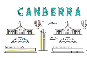 Canberra. Capital city of Australia.