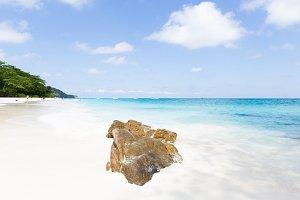 Phuket beach rocks