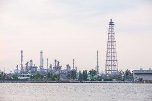 Petroleum refinery plant