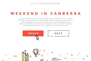 Weekend in Canberra. Capital city