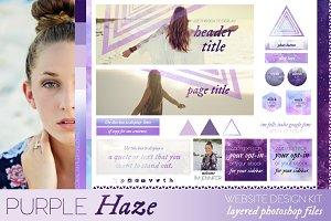 Purple Haze Website/Blog Kit