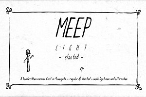 Meep Light Slanted