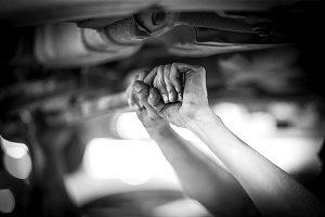 men hands