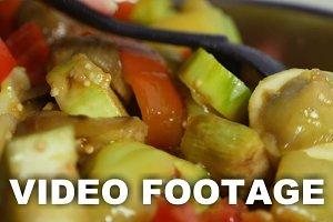Cooking stewed vegetables