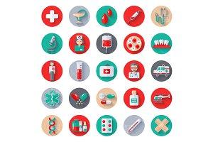 Medicine Icons Circles