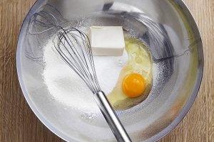 Eggs , Butter , Flour