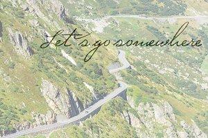 Let s go somewhere