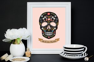 Sugar Skull Illustration